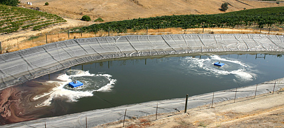 Clearblu environmental water treatment systems wineries for Pond water treatment systems